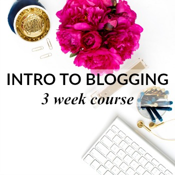 how to start a blog how to make money blogging 3 week Blog Course